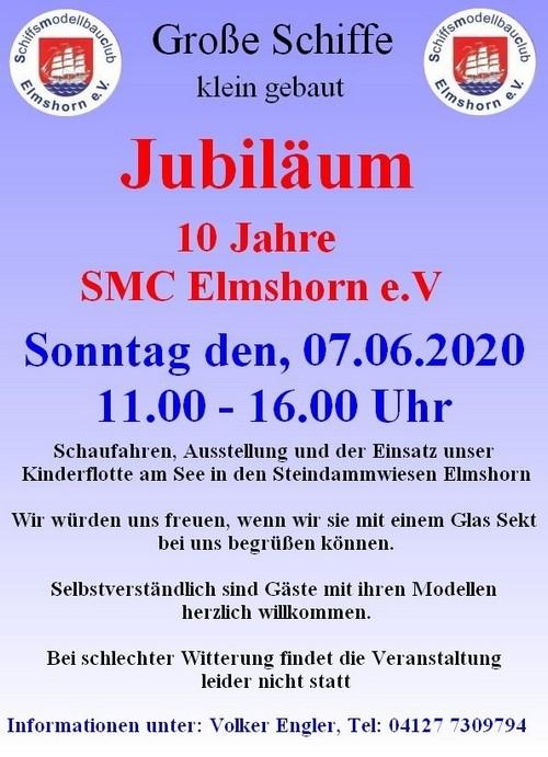 Absage: 10 Jahre SMC Elmshorn @ See in den Steindammwiesen